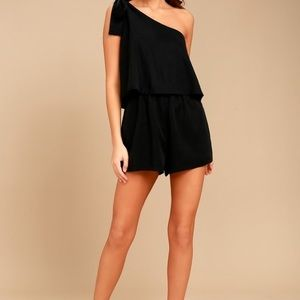 Lulu's One Shoulder Romper